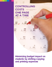 Controlling Costs in Education
