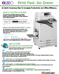 Green Printing in Education